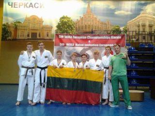 Radviliškiečiai sportininkai iš Ukrainos grįžo su apdovanojimais